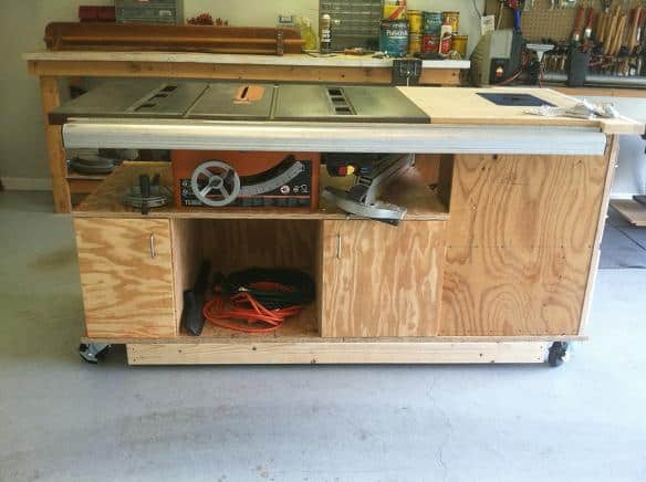 How to make a router and table saw combination table greentooth Choice Image