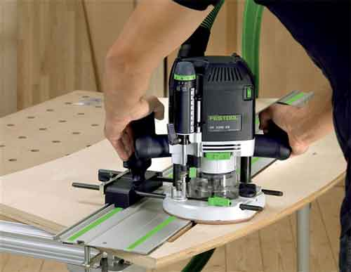 good side of the Festool