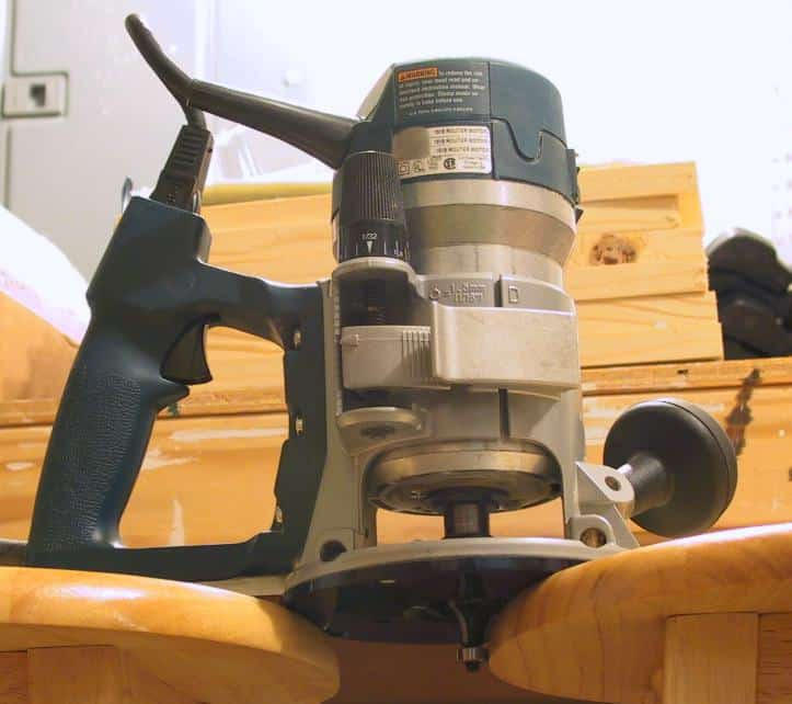how to use wood router